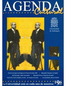 Agenda Cultural UdeA - Año 1999 JULIO
