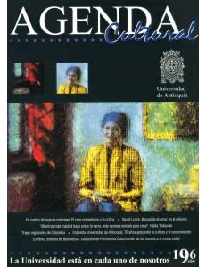 Agenda Cultural UdeA - Año 1999 AGOSTO