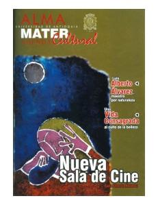 Agenda Cultural UdeA - Año 2001 FEBRERO