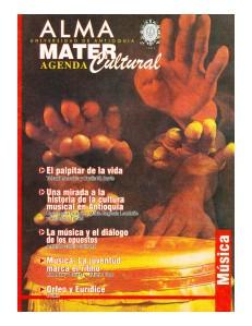 Agenda Cultural UdeA - Año 2001 NOVIEMBRE