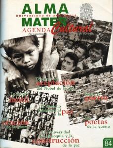 Agenda Cultural UdeA - Año 2002 NOVIEMBRE