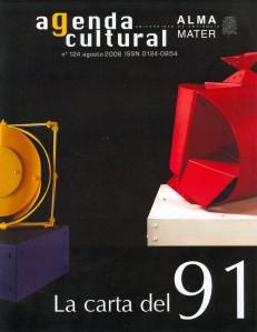 Agenda Cultural UdeA - Año 2006 AGOSTO