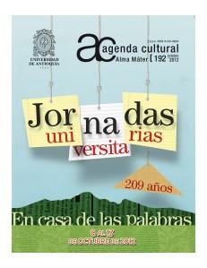 Agenda Cultural UdeA - Año 2012 OCTUBRE