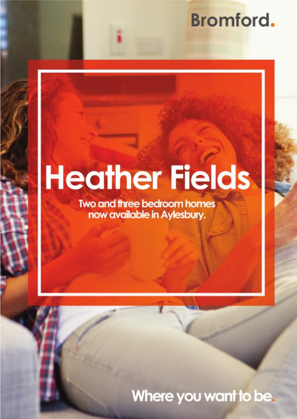 Where you want to be! Heather Fields