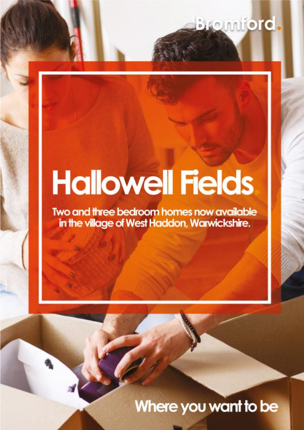 Where you want to be! Hallowell fields