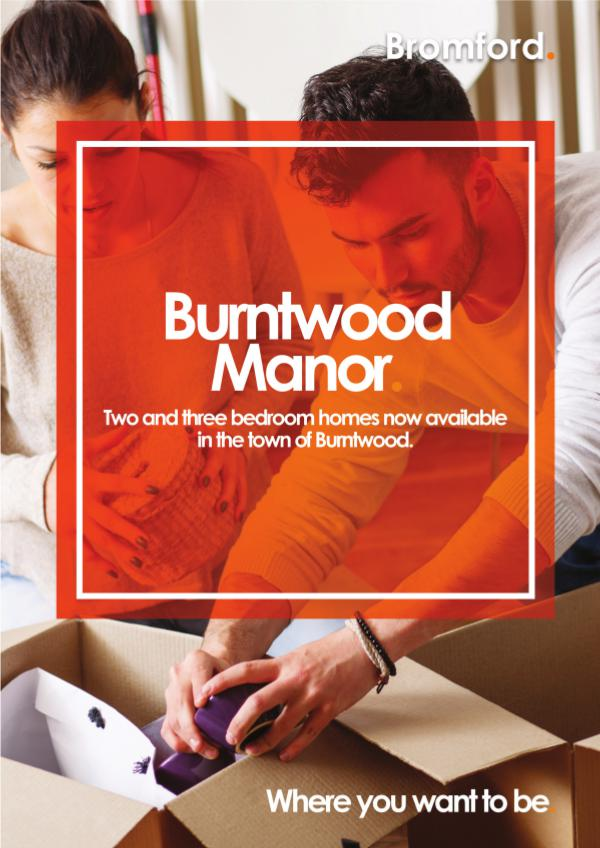Where you want to be! Burntwood Manor
