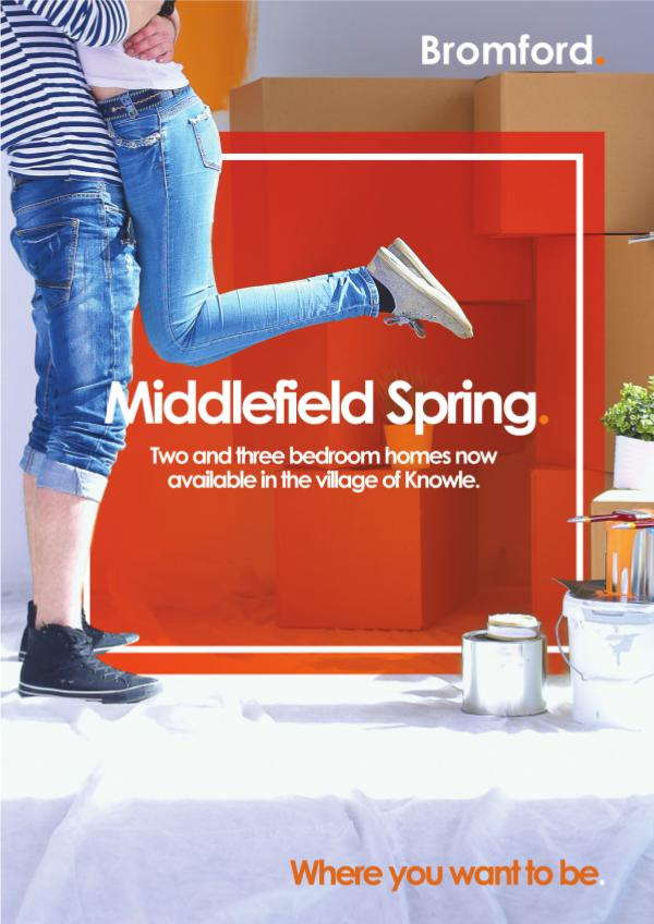 Where you want to be! Middlefield Spring