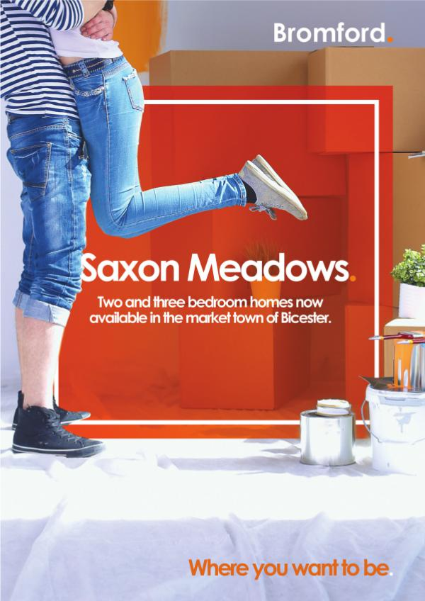 Where you want to be! Saxon Meadows