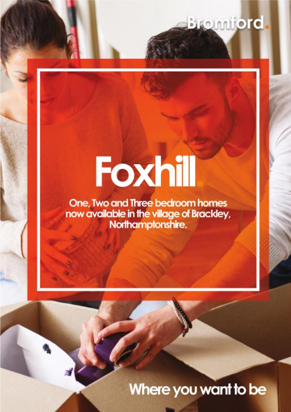 Where you want to be! Foxhill