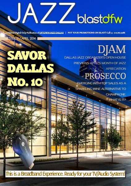 Uptown Jazz Dallas' JAZZ BlastDFW Issue 11