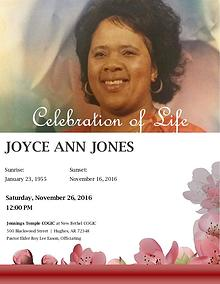 Joyce Ann Jones Funeral Program v2