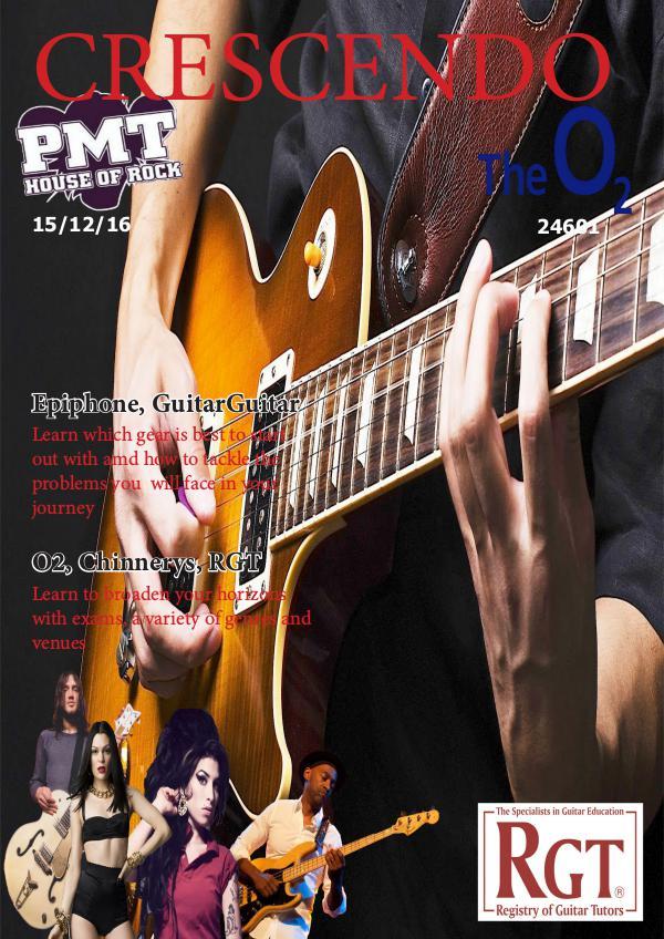 Crescendo Magazine by Katie Milsom