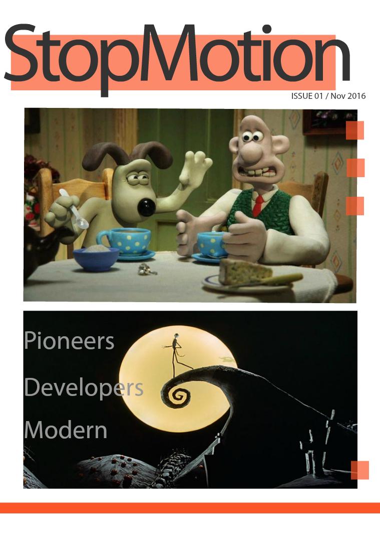 Stop Motion Magazine 1
