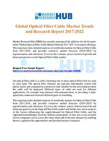 Market Research Report Global Optical Fiber Cable Market Trends Report