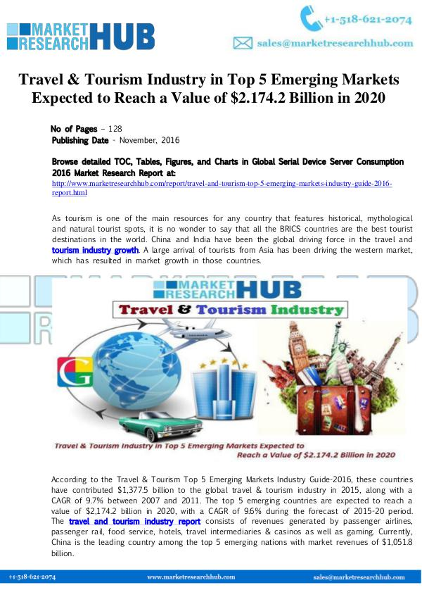 market research travel and tourism in International visitation in the united states: market research 2015 us travel and tourism statistics (inbound): international visitation to the united states.
