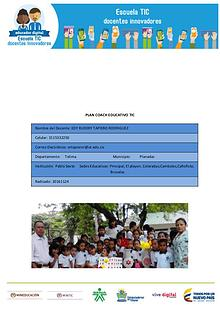Plan couch Educativo TIC