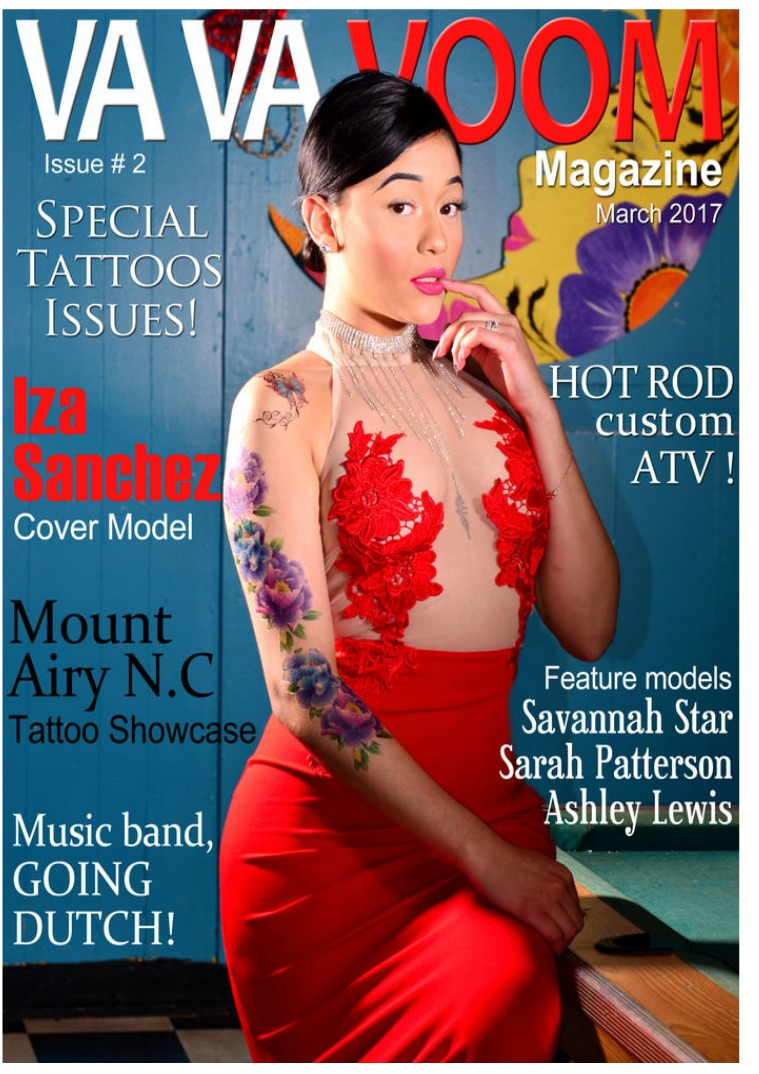 VA VA VOOM Magazine issue #2