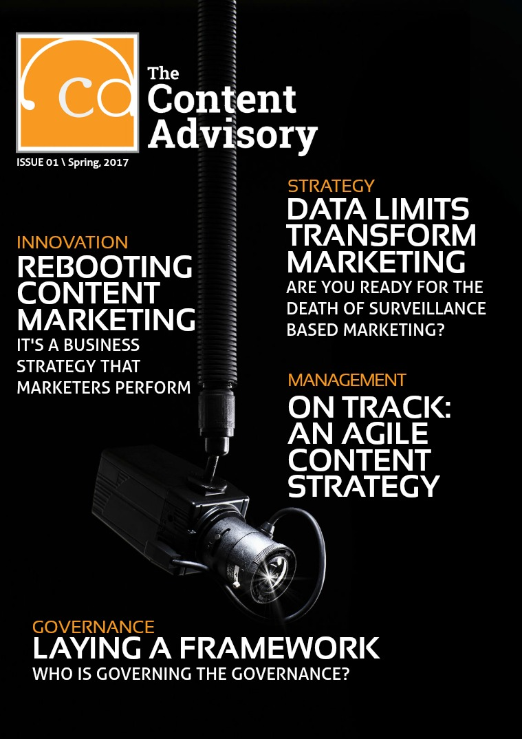 The Content Advisory Issue 1 - Spring, 2017