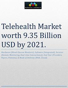 Telehealth Market worth 9.35 Billion USD by 2021