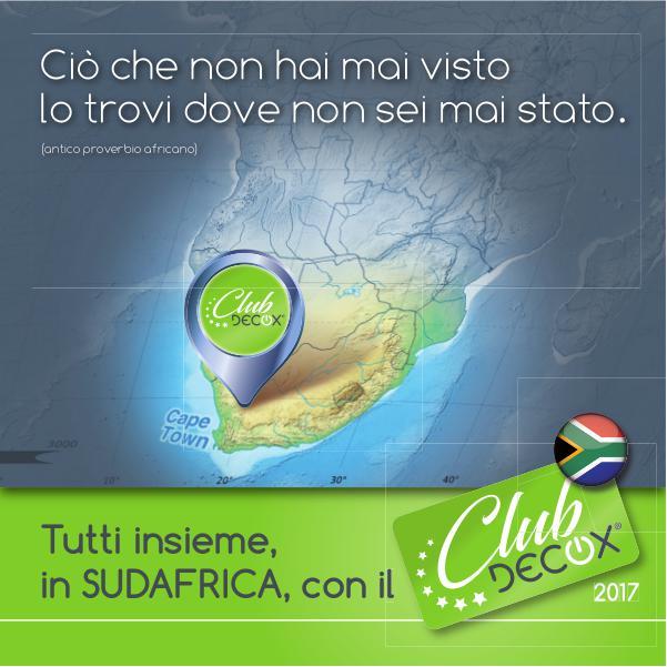 in SUDAFRICA con DECOX Club Viaggio incentive di Decox Elettrodomestici