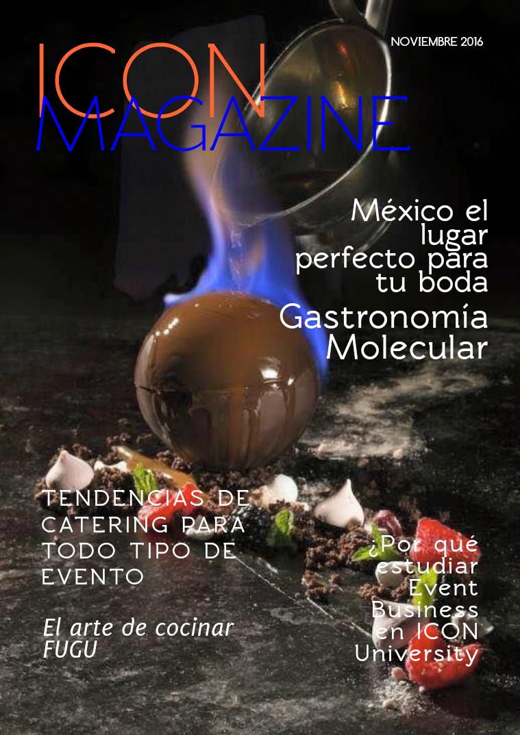 ICON Magazine Noviembre. 2016