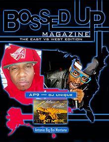 Bossed Up Magazine East VS West 2017