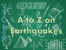 A to Z on Earthquakes