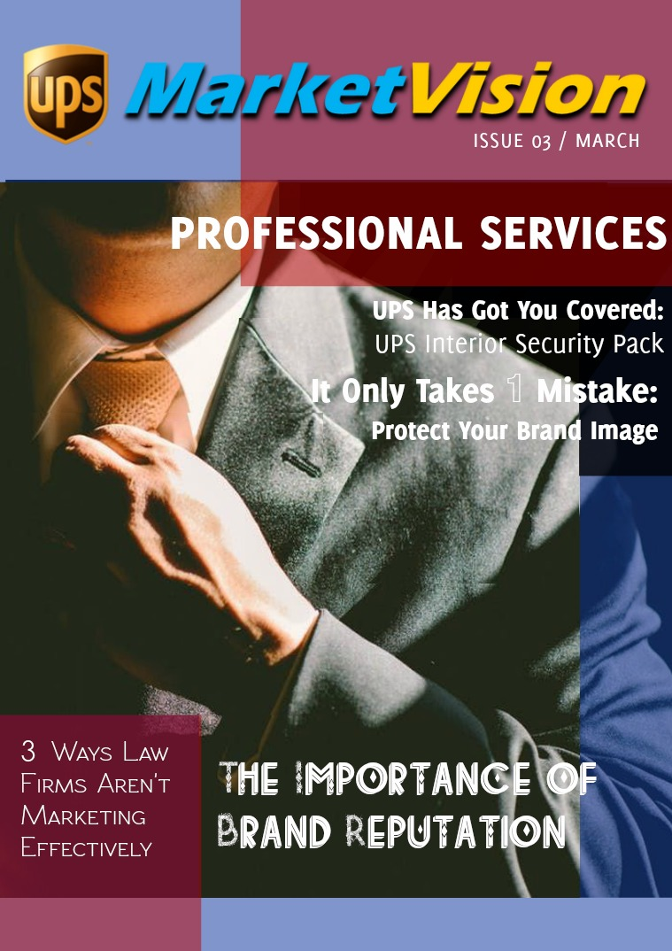 UPS Market Vision March - Professional Services