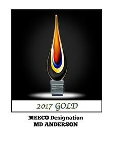 MEECO DESIGNATION REPORT 2017: MD ANDERSON