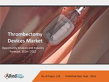 Thrombectomy Devices Market by Type and Diseases - 2022