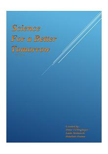 Science For A Better Tomorrow