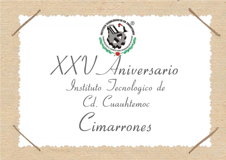 TecNM/ITCC XXV ANIVERSARIO Una nueva casta de campeones ha nacido!!