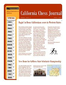 California Chess Journal