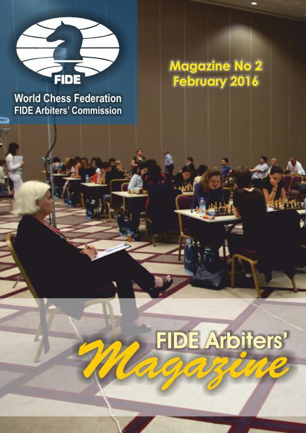 Fide Arbiters Magazine Febrero 2016