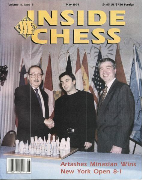 Inside Chess Mayo 1998