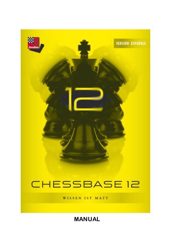 Manual de ChessBase 12 2012