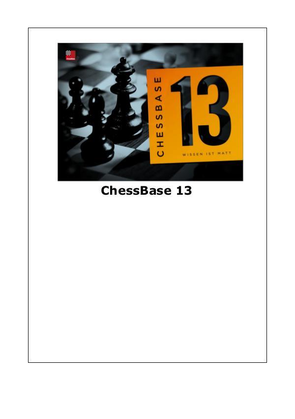 Manual de ChessBase 13 2014