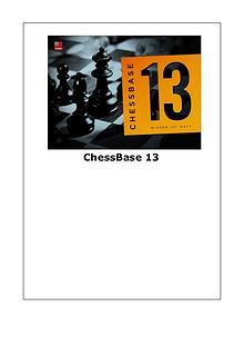 Manual de ChessBase 13