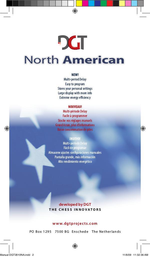 Manual de DGT North American 2009