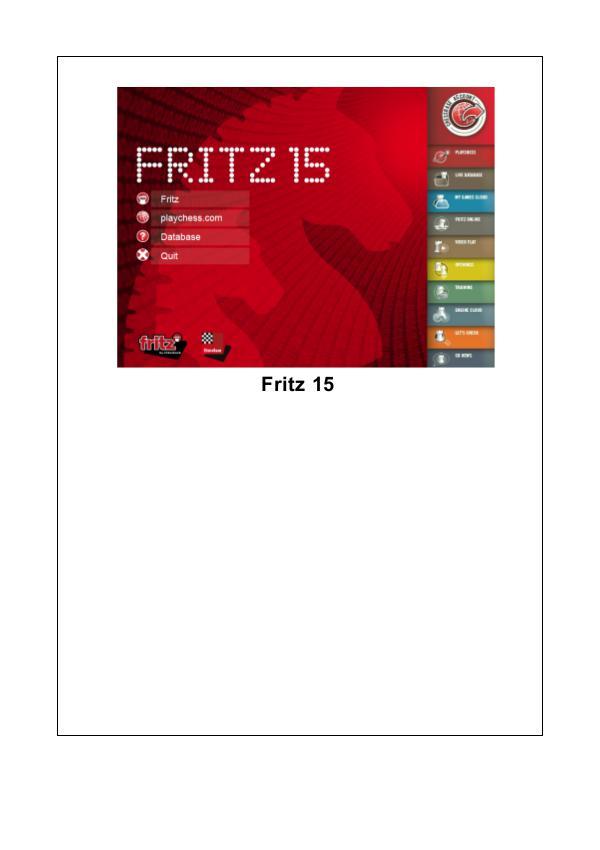 Manual de Fritz 15 2015