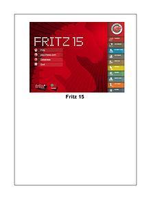 Manual de Fritz 15