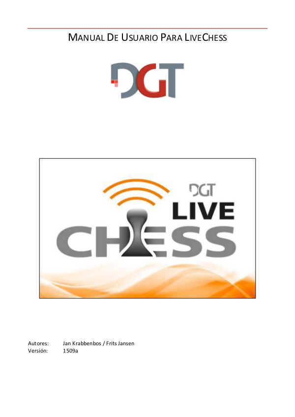 Manual para Live Chess 2016