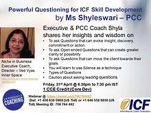 ICF - Powerful Questioning - Webinar-21stApr