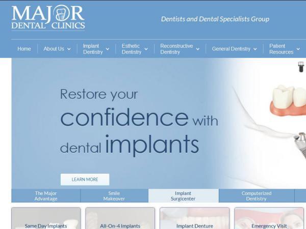 Cosmetic Dentist in Milwaukee  Orthodontists  Teeth Whitening Service Major Dental Clinics