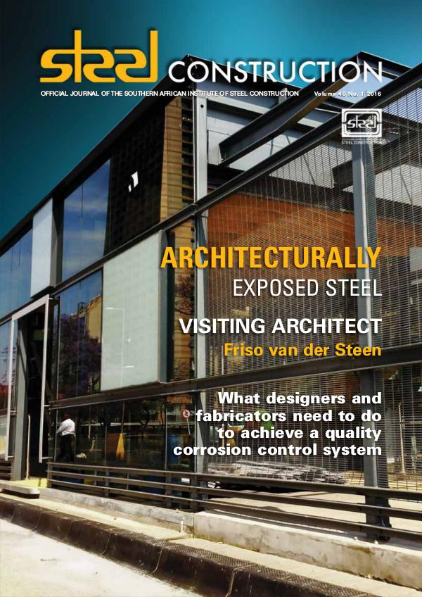 Steel Construction Vol 40 No 1 - Architecturally Exposed Steel
