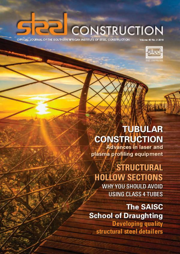 Steel Construction Vol 40 No 2 - Tubular Steel Feature