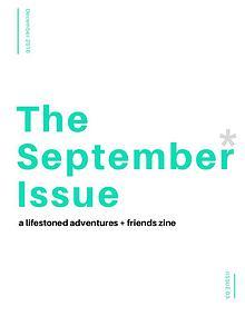 The September* Issue