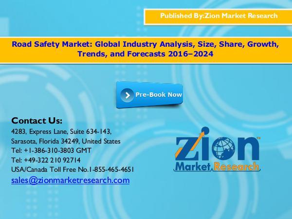 Road Safety Market, 2016–2024