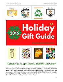 2016 Holiday Gift Guide by Charlene Chronicles
