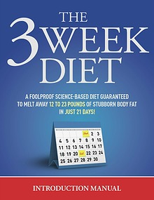 The 3 Week Diet System Book Free Download